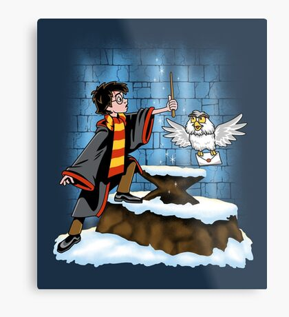 Wand and the Wizard Metal Print