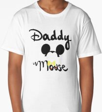 Daddy Mouse Shirt Long T-Shirt