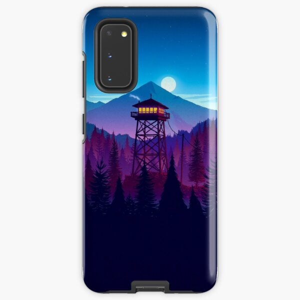 Firewatch - Landscape  Samsung Galaxy Tough Case