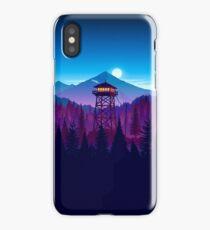 Firewatch - Landscape  iPhone Case/Skin