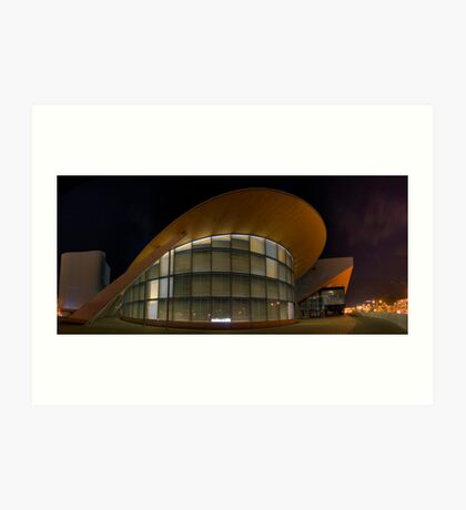 Olympic Architecture Art Print