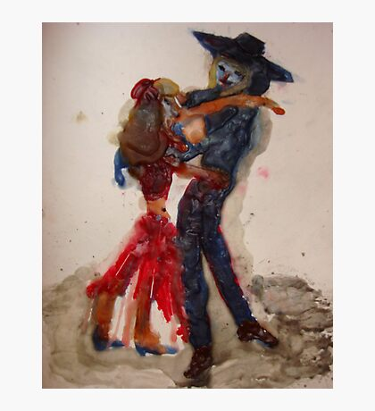 Dance With Me (hot Wax) Photographic Print