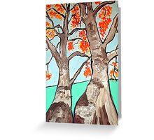 Boab trees  Greeting Card