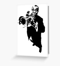 Louis Armstrong t-shirt Greeting Card