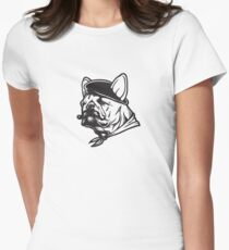 Frenchie Women's Fitted T-Shirt