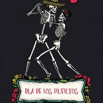 Day of the Dead Black by printisdead