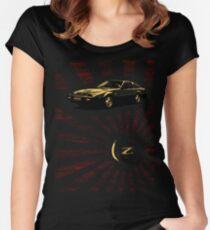 Nissan 300ZX Z31 Rising Sun Women's Fitted Scoop T-Shirt