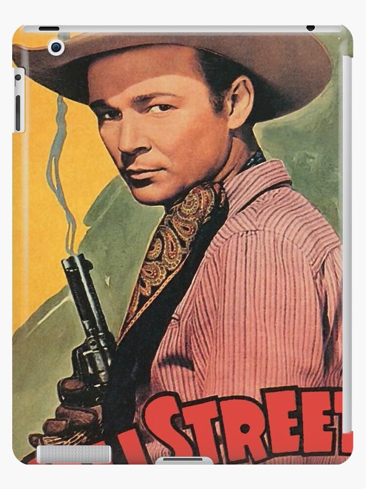 'Wall Street Cowboy, old Western, vintage movie poster' iPad Case/Skin by  AmorOmniaVincit
