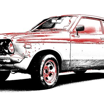 Datsun 120Y Fastback Coupe B210 1 by DatsunStyle