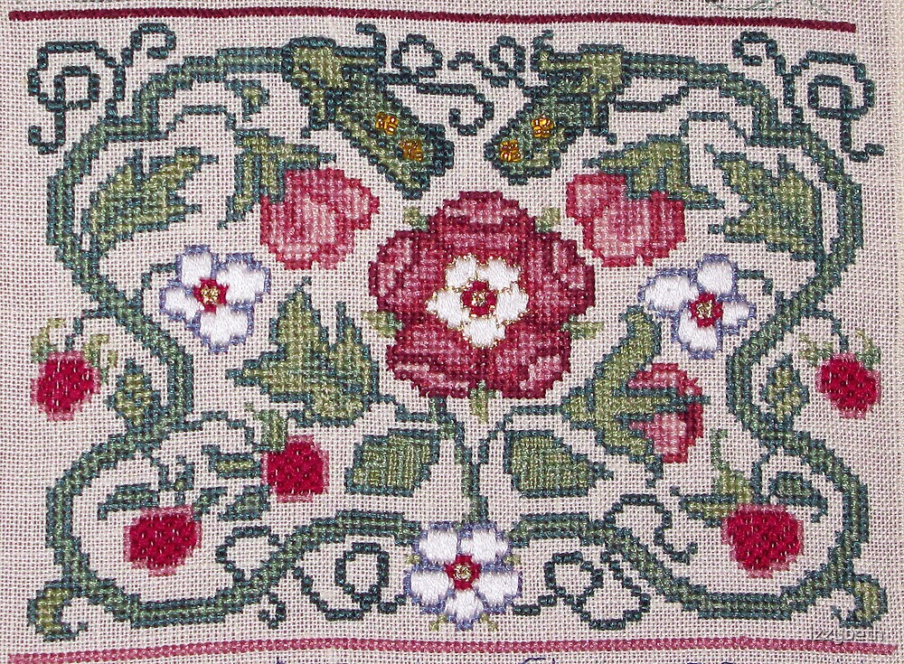 Floral Motif by izzybeth