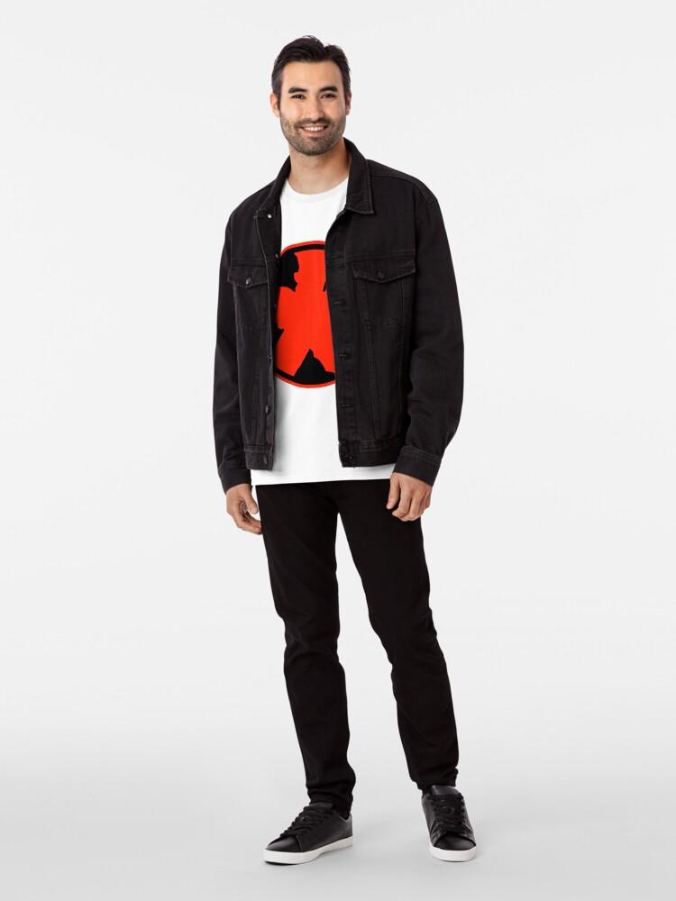 Alternate view of Red Flame N°1 Premium T-Shirt