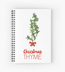 Christmas Thyme Spiral Notebook
