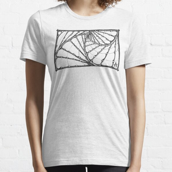 Line Drawing Frame Essential T-Shirt