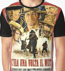 Camiseta gráfica Cartel de película del viejo oeste