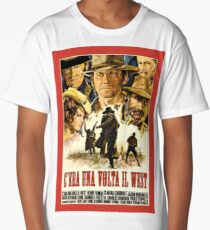 Old western movie poster Long T-Shirt