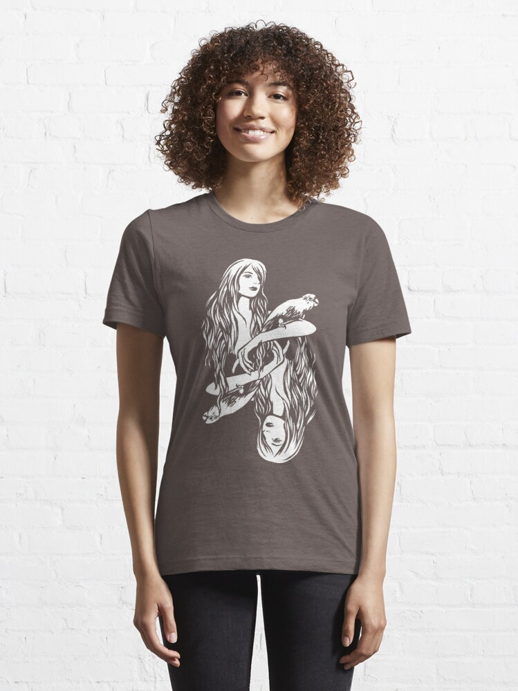 Alternate view of Parrot Girl - 2 Essential T-Shirt