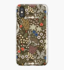 Meadow Hares iPhone Case/Skin