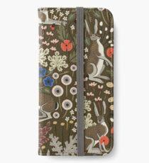 Meadow Hares iPhone Wallet