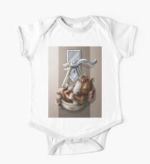 Welcome Baby One Piece - Short Sleeve