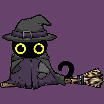 Witch Cat by WildSally