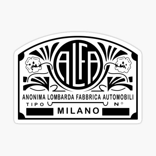 Alfa - Anonima Lombarda Fabbrica Automobili Pegatina