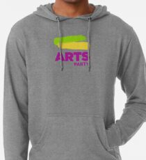 Official White - The Arts Party Lightweight Hoodie