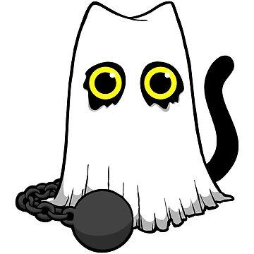 Ghost Cat by WildSally