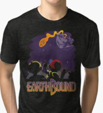 EARTHBOUND - First Steps Tri-blend T-Shirt