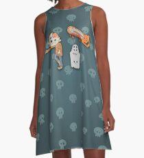 zombie apocalypse A-Line Dress