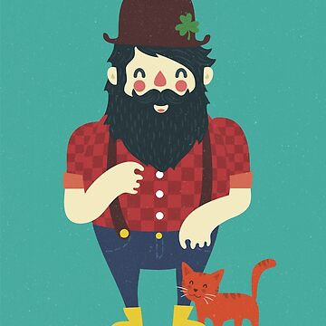 Beard & Kitten by BeardyGraphics
