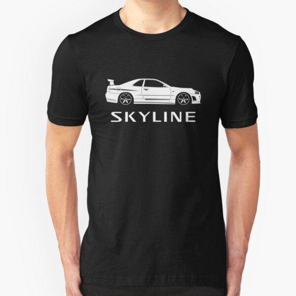 Nissan BNR34 Skyline Slim Fit T-Shirt