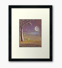 farmer frogs Framed Print