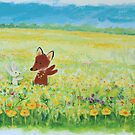 buttercup meadow by Tiphanie Beeke