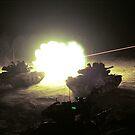 Tank Fire by markophoto