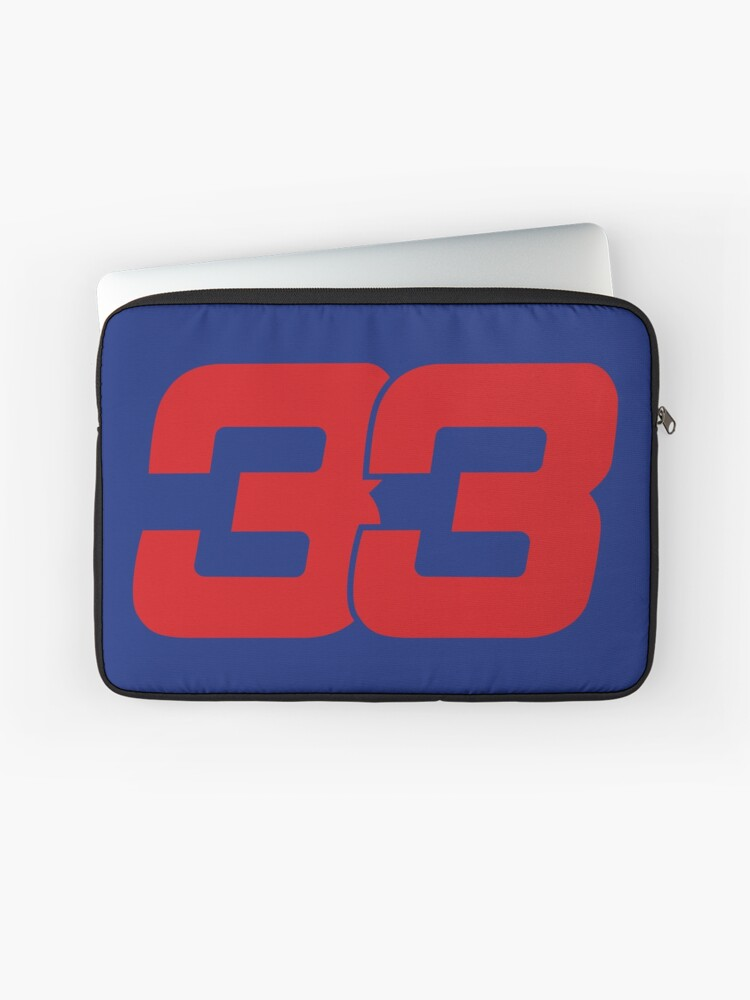 Max Verstappen 33 Redbull | Housse d'ordinateur