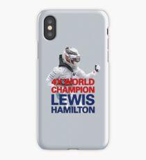 Lewis Hamilton - 4x World Champion iPhone Case/Skin
