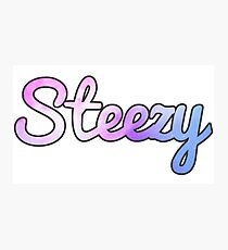 Keepin' the Steeze Photographic Print