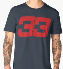Max Verstappen 33 Redbull 2017 Men's Premium T-Shirt