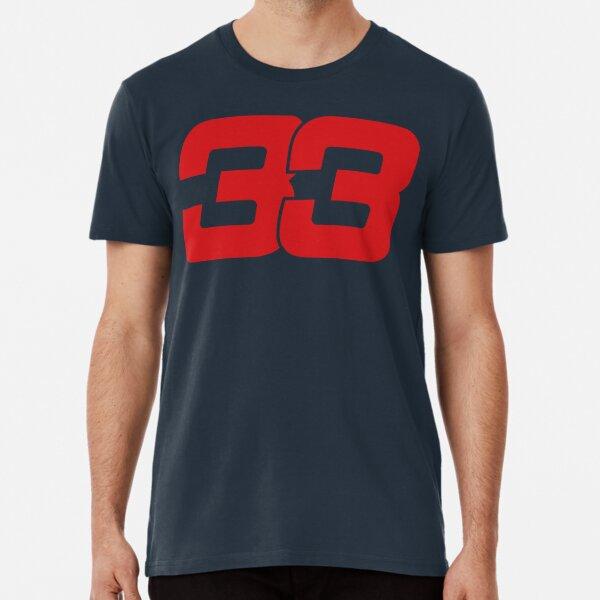 Max Verstappen 33 Redbull 2017 Premium T-Shirt