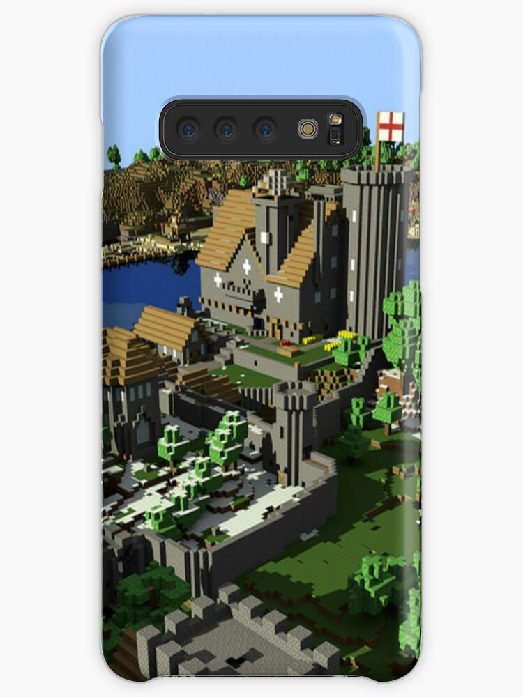 'Minecraft' Case/Skin for Samsung Galaxy by gakkag