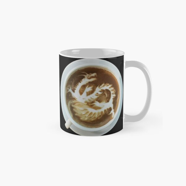 Chinese dragon IN the coffee cup Classic Mug