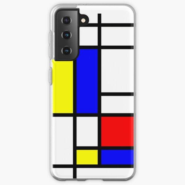 Mondrian Samsung Galaxy Soft Case