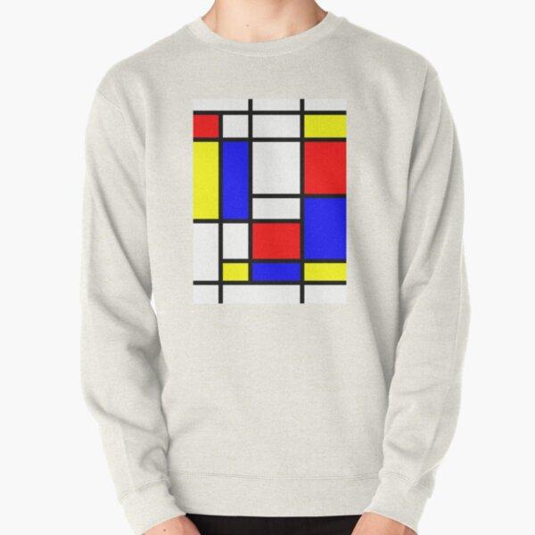 Mondrian Pullover Sweatshirt