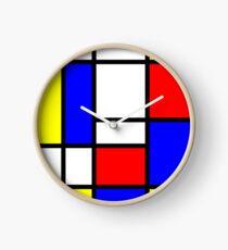 Mondrian Uhr