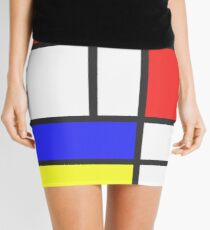 Minifalda Mondrian