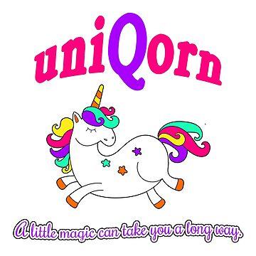 uniQorn the Unique Unicorn by CafePretzel