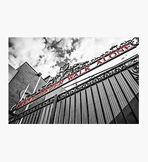 Anfield - The Shankly Gates Photographic Print