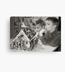 Memories of a special Christmas Canvas Print
