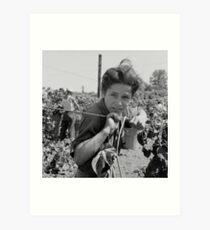 An American Boy  by Dorothea Lange Art Print