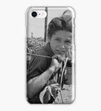 An American Boy  by Dorothea Lange iPhone Case/Skin